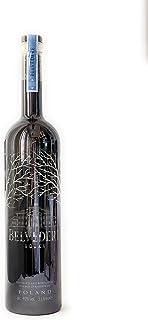 Belvedere Vodka Pure Gun Metall Edition mit LED Beleuchtung 1x 3l 40% Vol