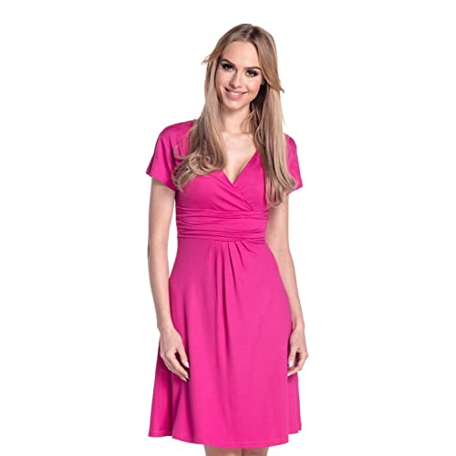 buy popular c8779 d67b4 Vestito Fucsia: Amazon.it