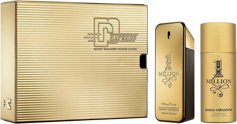 Paco Rabanne 1 Million Eau Toilette 100 ml + Desodorante Spray 150 ml 0.25 g