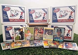 300 card MINI-JUMBO lot of Baseball cards Starter kit with Guaranteed Superstars -1970's to present. Comes in Custom Souvenir Box- Great gift for the 1st time collectors! OVER 1,150 SOLD by 3bros