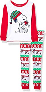 Best snoopy toddler pajamas Reviews