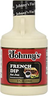 Johnny's French Dip Concentrated Au Jus Sauce, 8-Ounce Jugs (Pack of 6)