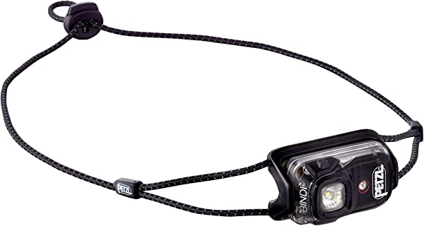 PETZL Bindi 200 Lumens Ultralight Rechargeable And Compact Headlamp For Urban Running