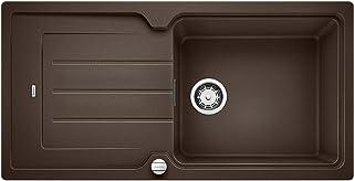 BLANCO 铂浪高 CLASSIC NEO 6 S 厨房水槽 花岗岩水槽 Silgranit PuraDur 花岗岩材料 1 件 Cafe 60 cm Unterschrank - XL-Becken
