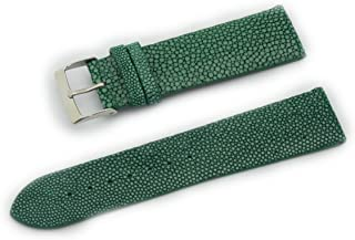 Cassis GALUCHAT Caoutchouc Genuine Stingray Leather Waterproof Lining Watch Strap 22mm with Tool