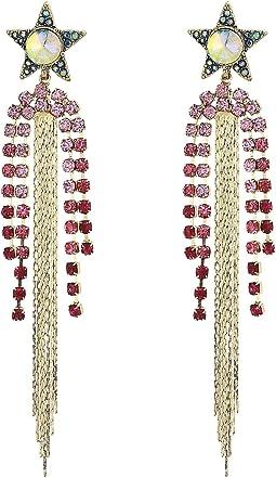 Star Chandelier Earrings