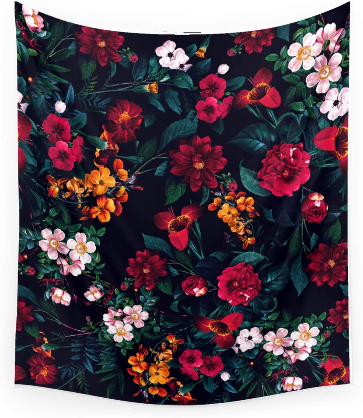 Society6 The Midnight Garden by Super sale period limited Hanging Wall Rizapeker Max 73% OFF on Tapest