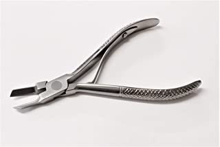 SiS EQUINOX Pig Teeth Cutter Thin Jaws Improved Design Stainless Steel Spring Operated Plier
