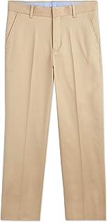 Boys' Flat Front Twill Dress Pant