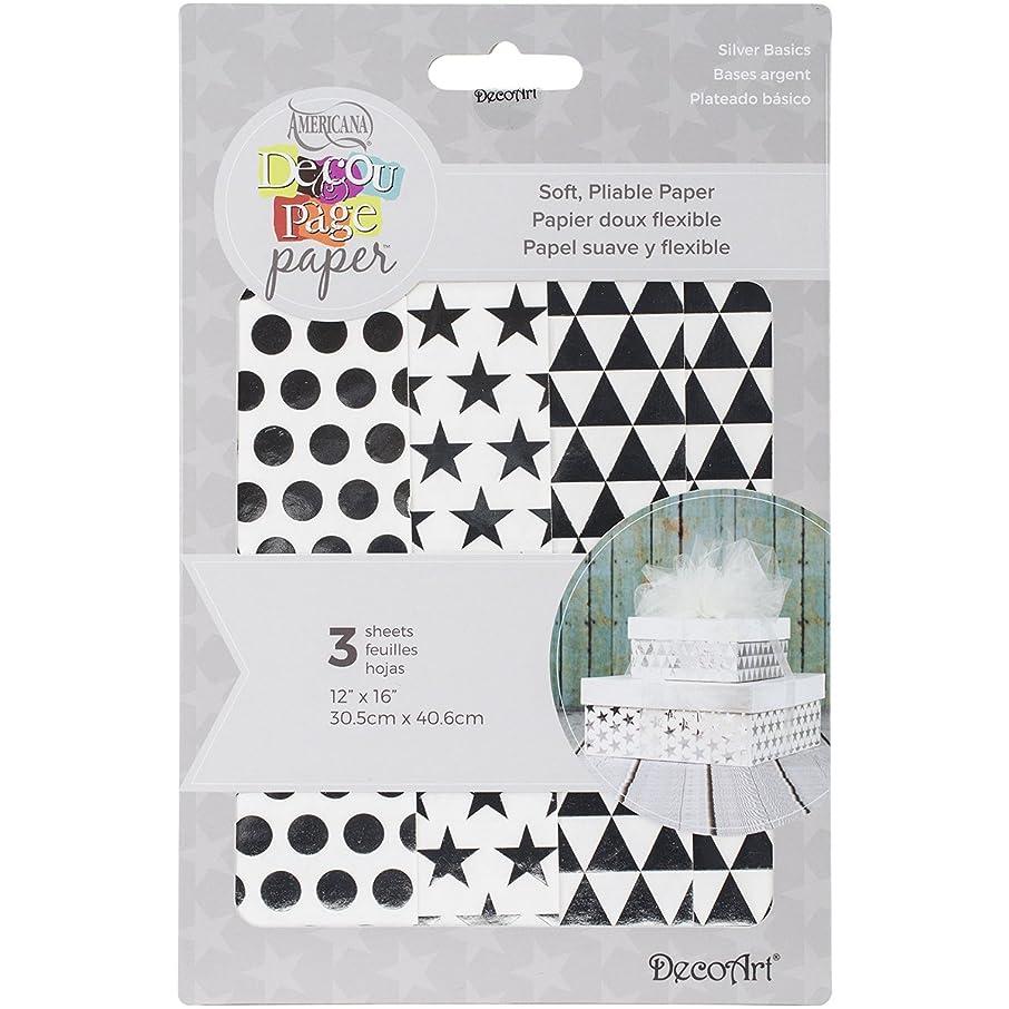 DecoArt Decoupage Paper (3 Pack), 12