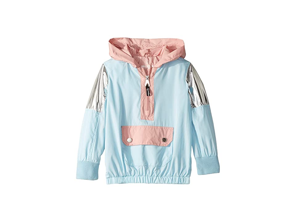 Urban Republic Kids Windbreaker Pullover (Little Kids/Big Kids) (Light Blue) Girl
