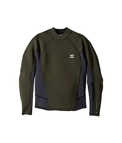 Billabong 202 Absolute Compression Long Sleeve (Black/Olive) Men