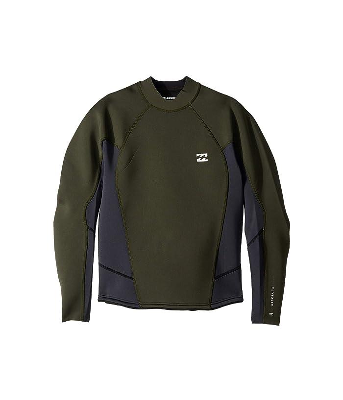 Billabong 202 Absolute Compression Long Sleeve (Black/Olive) Men
