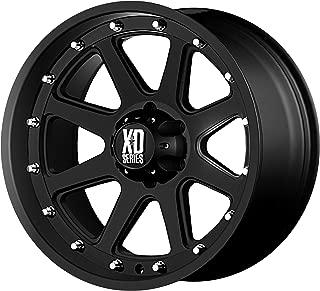 XD SERIES XD798 18x9 8x6.5-12mm Matte Black Wheel Rim 18