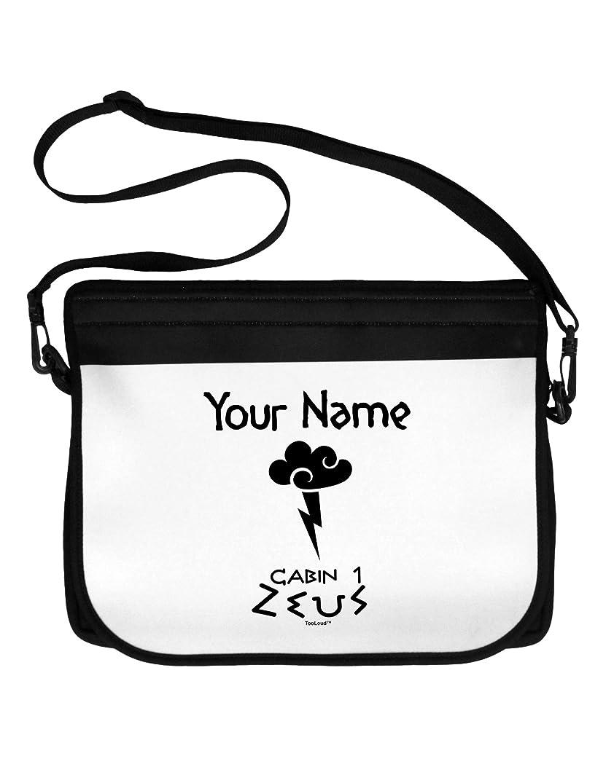 TooLoud Personalized Cabin 1 Zeus Neoprene Laptop Shoulder Bag