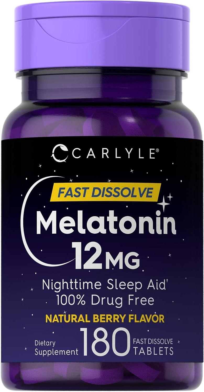 Melatonin - Natural Antioxidant Supplement - Ranking the Best Sleep Aids of 2021