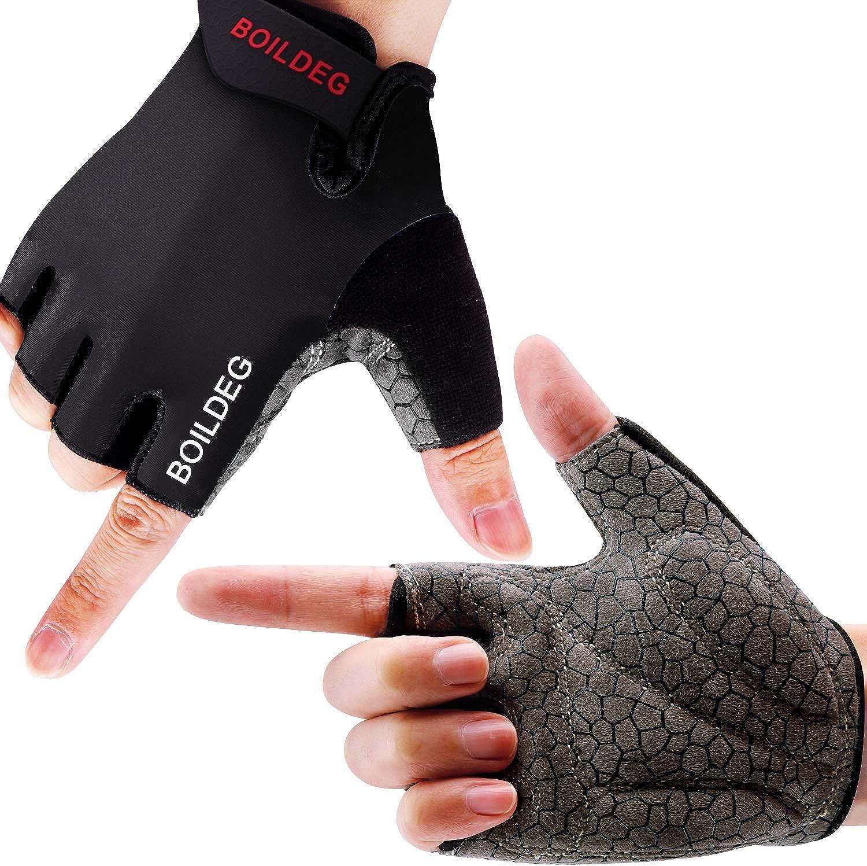 Cycling Gloves Bike Gloves Mountain Road Bike Gloves Anti-slip Shock-absorbing Pad Breathable Half Finger Bicycle Biking Gloves for Men /& Women