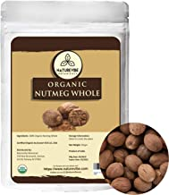 Naturevibe Botanicals Organic Nutmeg Whole 50gm | Non-GMO and Gluten Free | Indian Spice | Adds Aroma and Flavor