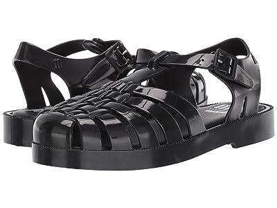 Mini Melissa Mel Possession (Little Kid) (Black) Girls Shoes