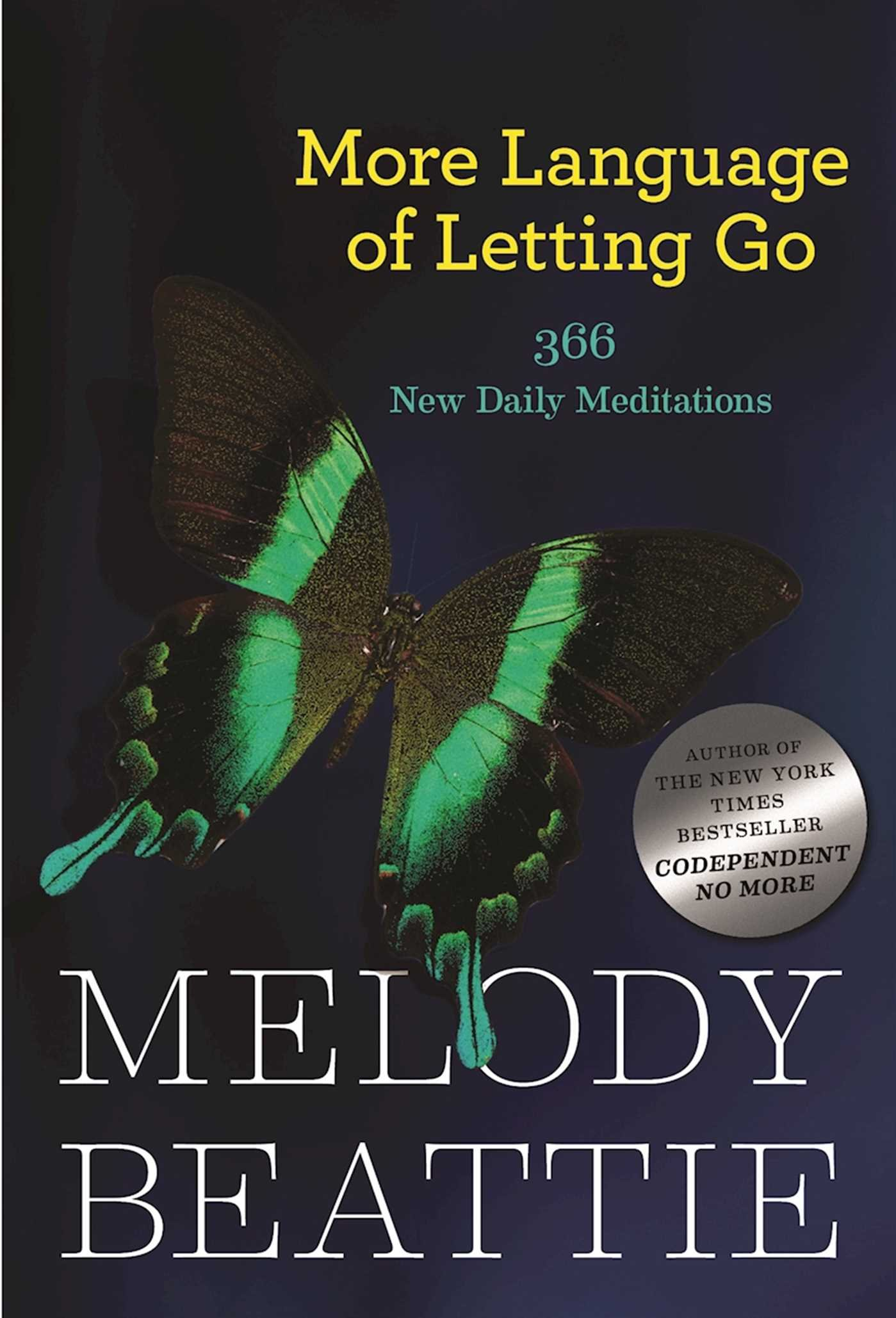 Image OfMore Language Of Letting Go: 366 New Daily Meditations