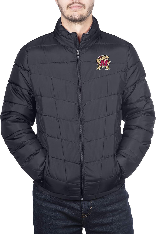 Spyder Mens Full Zip Pelmo Gameday Puffer Jacket