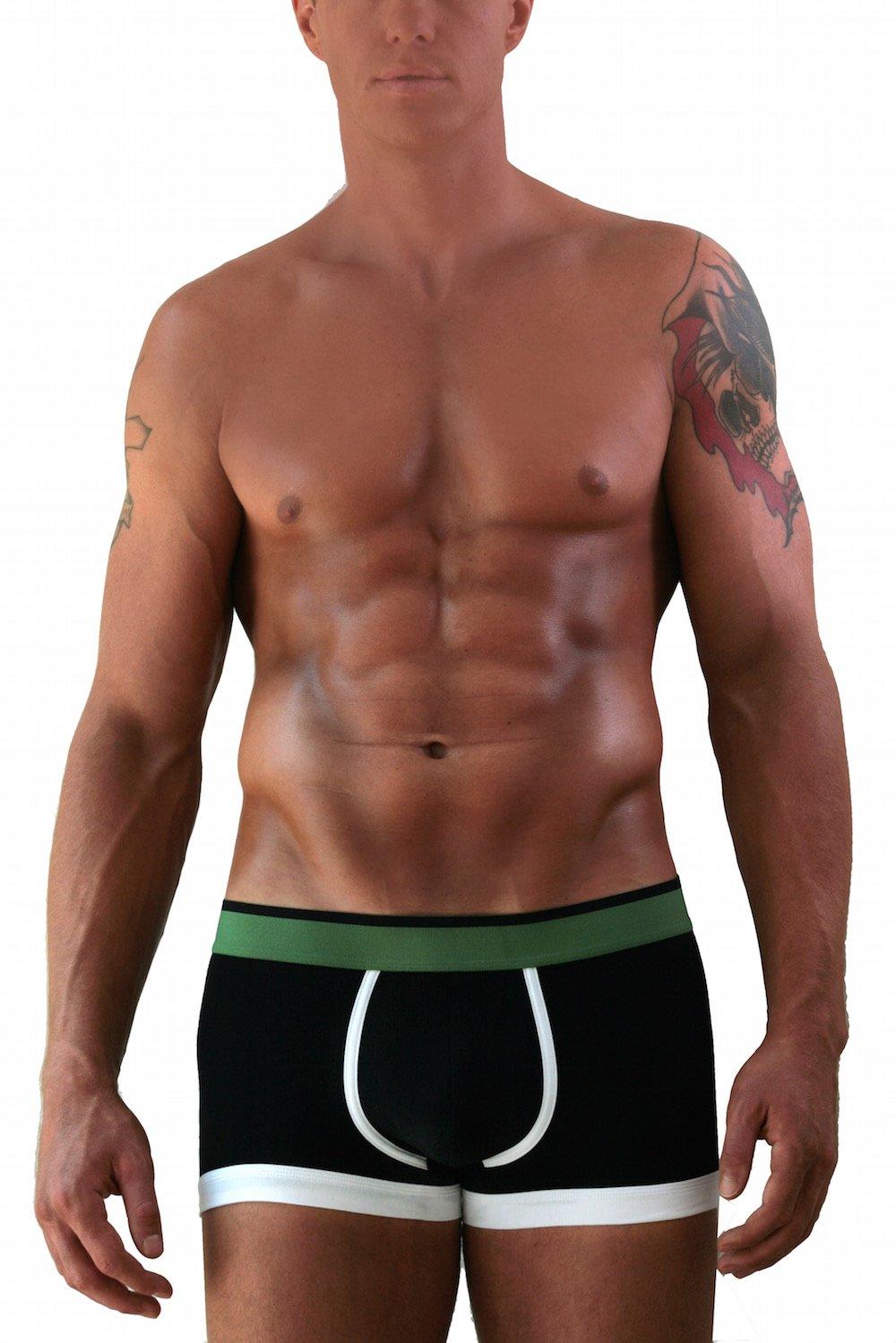 Adrian Bartol Men's Stretch Boxer Brief Underwear
