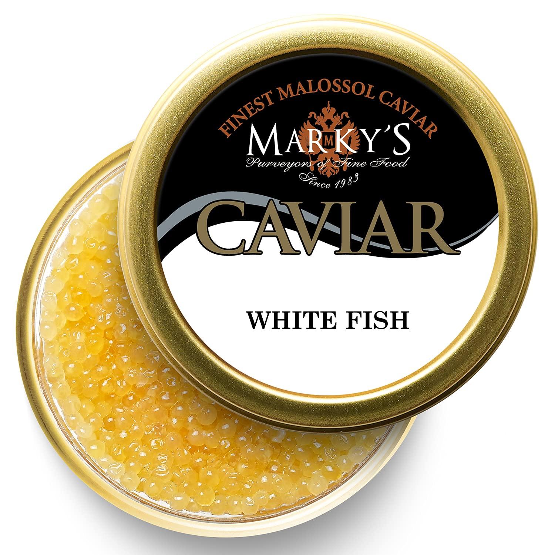 Marky's Premium Whitefish Golden Caviar Max 89% OFF Max 41% OFF - oz Malossol W 4