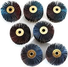Taille : 80# Ting WU 5pcs 150x104mm Feuilles de pon/çage 40//80//120//180 Grain Sander Pads Triangle Sandpaper Mouse Roues abrasives