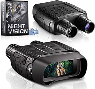 Night Vision and Day Binoculars for Hunting in 100% Darkness - Digital Infrared Goggles Military for Viewing 984ft/300M in...