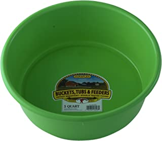 Little Giant P5LIMEGREEN Dura-Flex Plastic Utility Pan, 5-Quart, Lime Green