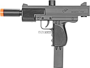 BBTac M36 Airsoft Spring Gun SMG, Powerful 250 FPS with 18 Round Clip/Magazine