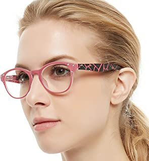 5e64a4a370fe OCCI CHIARI Women Stylish Elegant Oval Lightweight Designer Reading Glasses