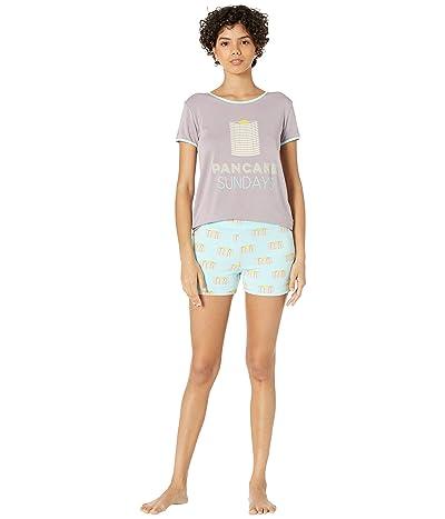 Kickee Pants Short Sleeve Pajama Set with Shorts