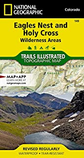 eagles nest wilderness area map