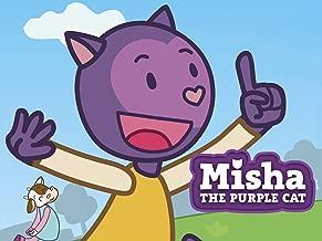 Misha the Purple Cat