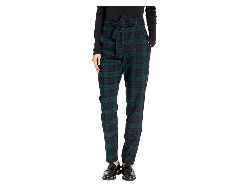 Pendleton - Pendleton Tartan Belted Trousers
