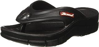 Paragon Unisex Black Flip-Flops - 13 Kids UK/India (33 EU) (EV1125C)