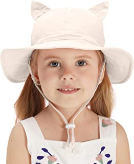 Home Prefer Baby Toddler Girls Sun Hat UPF 50+ Wide Brim...