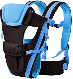 Chinmay Kids 4-in-1 Adjustable Baby Carrier Cum Kangaroo Bag/Baby Carry Sling/Back/Front Carrier for Baby with Safety Belt...