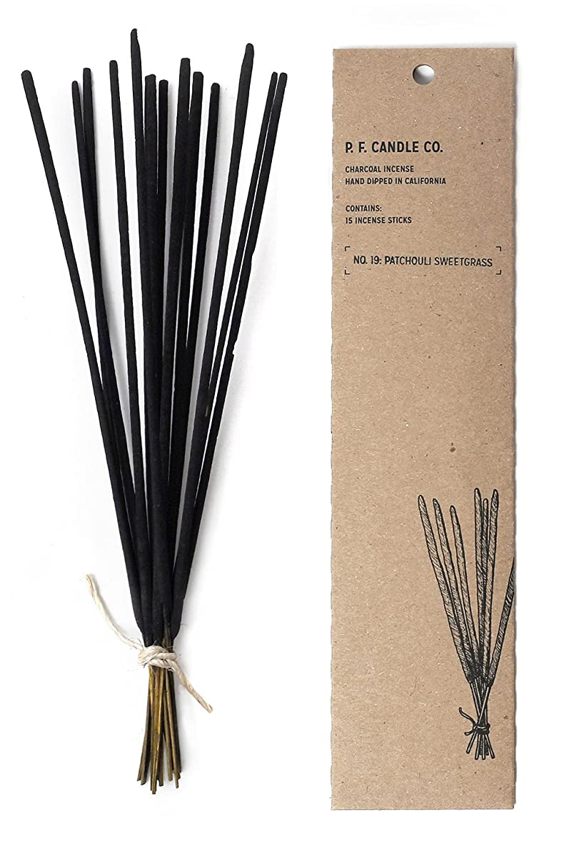 作者ストレス続編p.f. Candle Co。?–?No。19?: Patchouli Sweetgrass Incense 2-Pack