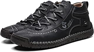 JIE. SXRTLCasual Hommes Single Chaussures Nouveau Cuir Chaussures Sports Tendance Chaussures Homme Grand Taille Chaussures...