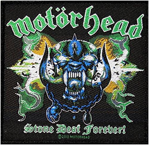 Motörhead - Aufnäher Stone Deaf Forever (in OneSize)
