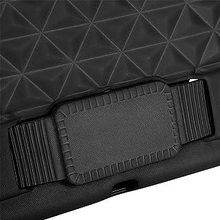 غلاف واقي للكمبيوتر اللوحي، إكسسوار تابلت قابل للتعديل خفيف الوزن مع حزام لألعاب الكمبيوتر اللوحي (أسود)