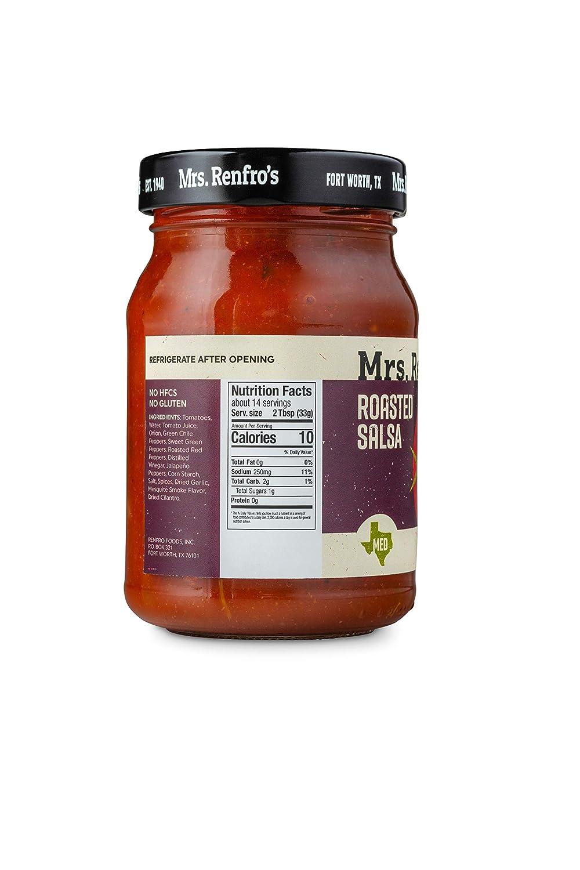 Mrs. Renfros Roasted Salsa Gluten-Free (16-oz. jars, 4-pack)
