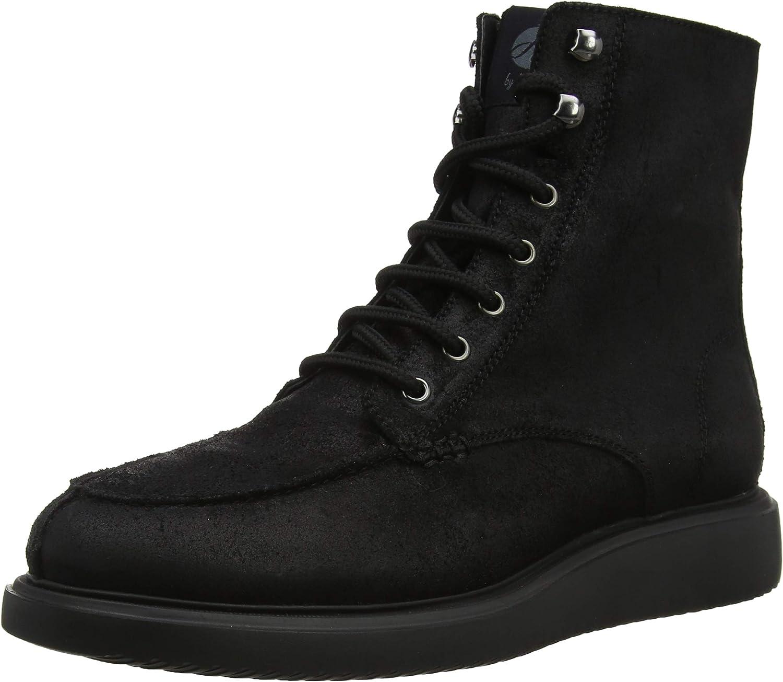 Hudson Men's Belper Combat Boots