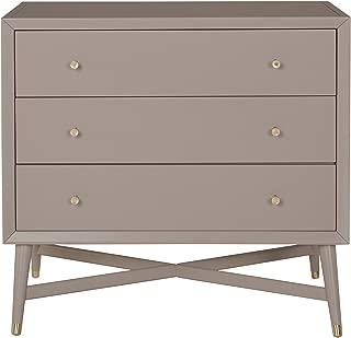 Dwellstudio Mid Century 3 Drawer Dresser, French Grey