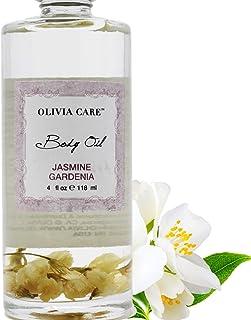 Jasmine Gardenia Body Oil - Vegan & Natural - Hydrate & Moisturize. Infused with VITAMIN E, K & Omega Fatty Acids - Refres...