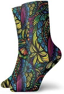 Curve Beauty Crew Calcetines Casual Divertido para botas deportivas Senderismo Running, 30 cm