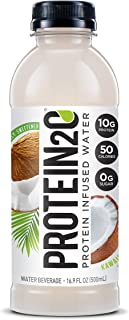 Protein2o Low Calorie Protein Infused Water, 10g Whey Protein Isolate, Kawaiola Coconut (16.9 Oz, Pack Of 12)