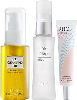 DHC Deep Cleansing Oil (S), Velvet Skin Coat, Super Collagen Mist